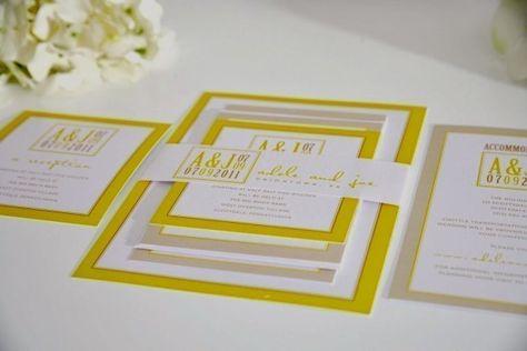 Partecipazioni Matrimonio Gialle.Sposarsi L 8 Marzo Partecipazioni Di Nozze In Giallo Inviti A