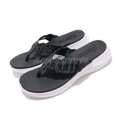 Advertisement Ebay Skechers Ultra Flex Summer Sway Black White