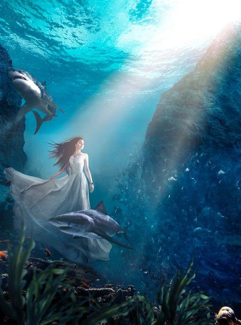 Artist of the week    Underwater World Photo Animation by Plotaverse