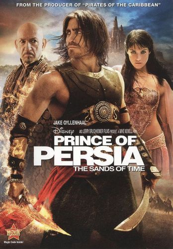 Prince Of Persia The Sands Of Time Dvd 2010 Best Buy Prince Of Persia Persia Movies