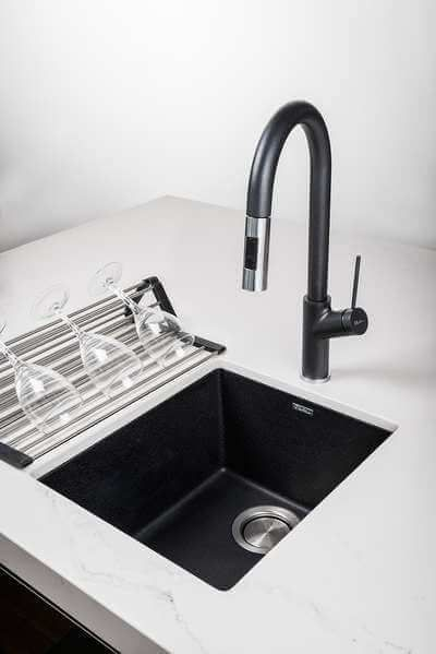 Is A Colourful Kitchen Sink In Your Future Black Undermount