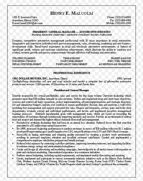 Best Resume Objective For General Manager General Resume - general objectives for resume