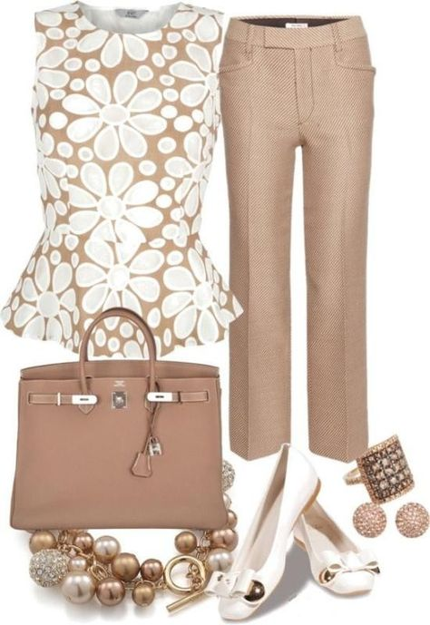 Outfits Mode für Frauen 2019 - Breathtaking Floral Outfit Ideas for All Seasons - Is there anyone who does. Pear Shape Fashion, Work Fashion, Fashion Pants, Fashion Outfits, Women's Fashion, Curvy Fashion, Fashion Trends, Street Fashion, Office Attire