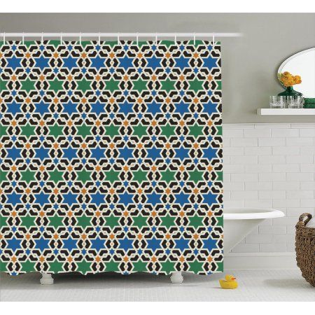Moroccan Decor Geometric Hexagonal Pattern Stars Islamic