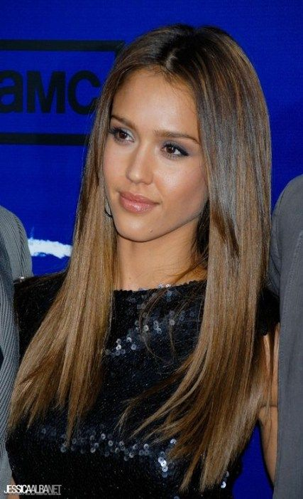 Hair Straight Brown Jessica Alba 43 Ideas For 2019 With Images