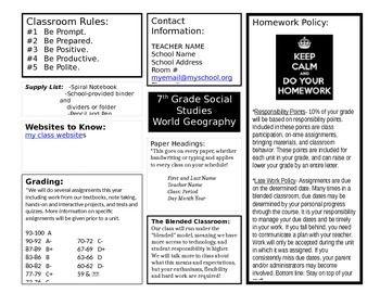 classroom syllabus template