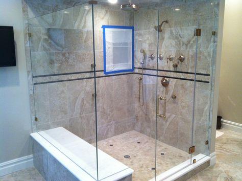 When Measuring Designing Installing Frameless Shower Doors We