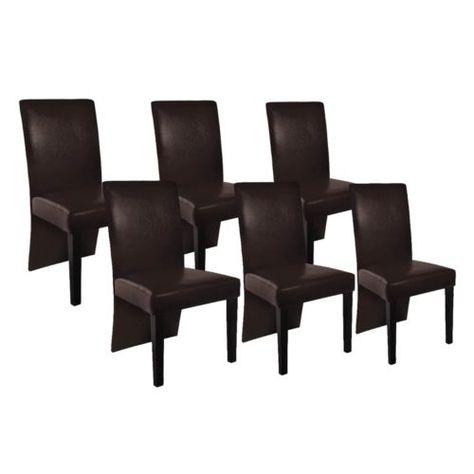 6 Stühle Stuhlgruppe Hochlehner Esszimmerstühle Essgruppe Sitzgruppe Braun  NEU; EEK A++sparen25.com , Sparen25.de , Sparen25.info   Preisvergleich    ...
