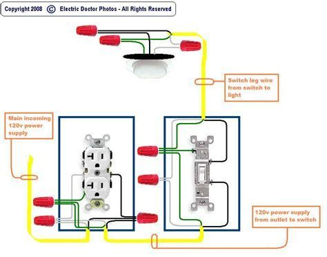 Pin By David Dunn On Lighting Outlet Wiring Installing Electrical Outlet Light Switch Wiring