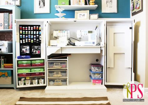 Positively Splendid : Sewing Room/Home Office Reveal. would love this Sewing Box