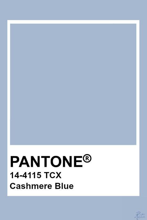 Pantone Cashmere Blue