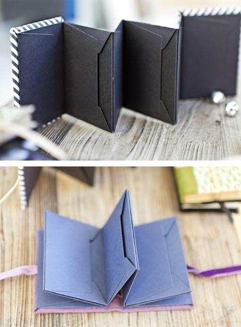 Mini album envelope////would make a really nice gift journal/keepsake journal.