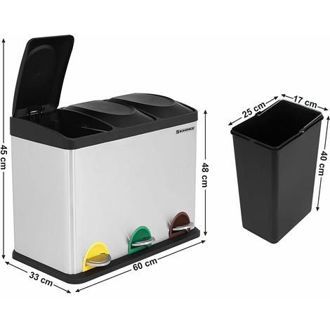 Station De Recyclage Frost A 3 Compartiements Home Appliances Washing Machine Laundry