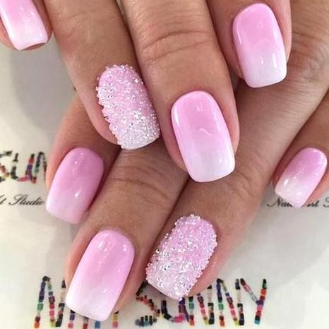 Pin By Laurel Angelica On Nails In 2020 Pink Ombre Nails Cute Nails Nails