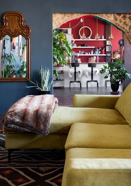 Cozy Up - The Eclectic Maximalist Home Of Nashville's Coolest Fashion Designer - Photos