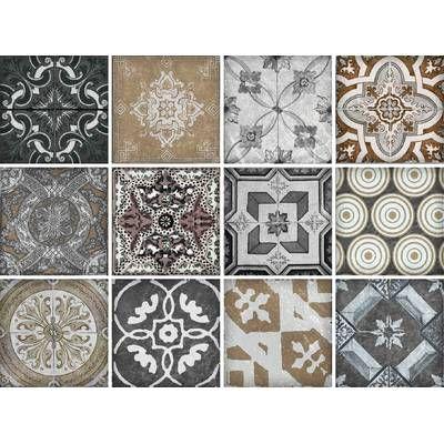 12 Tlg Selbstklebendes Mosaikfliesen Set Ebba Aus Pvc