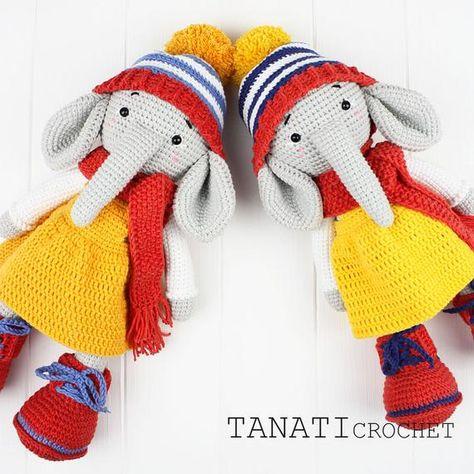 Ravelry: saint6811's Olivier | Crochet elephant, Crochet elephant ... | 474x474