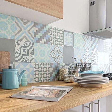 Cores suaves na cozinha...Apaixonada!Via Leroy Merlin #loveit #instahomedecor #decoração #instadecor #instahome #cozinha #kitchen