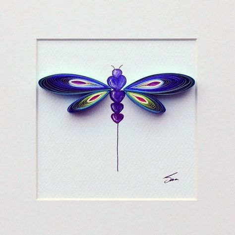 Created by Sena Runa. An interview with the artist:: www.allthingspaper.net/2015/02/paper-quilling-by-sena-run...