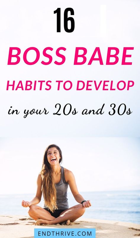 16 #BossBabe Habits You Need to Adopt in 2019!