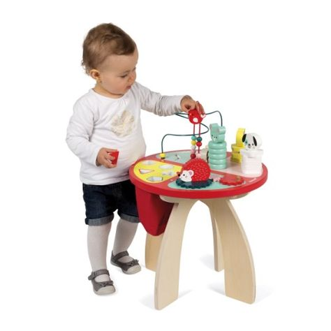 Table D Activites Baby Forest Janod Table D Activite Bouliers Activite