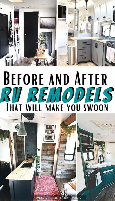 Are you itching to do an RV remodel on your rig? Need some RV inspiration to get started? Check out these 12 RV Remodel before and after posts for all the inspiration you need.