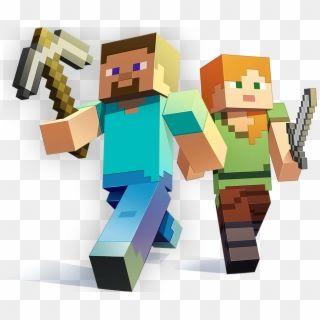 Minecraft Character Art Transparent Minecraft Alex And Steve Hd Png Download Minecraft Art Minecraft Characters Character Art