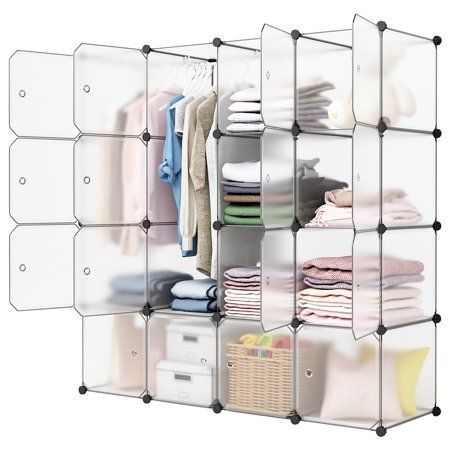 Home Diy Closet Storage Modular Closets Plastic Shoe Rack