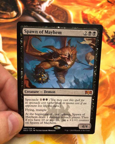 mtg 4x x4 M-NM SPARROW MAGIC 4 Elemental TOKEN Dominaria