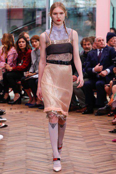 The complete Prada Resort 2018 fashion show now on Vogue Runway.