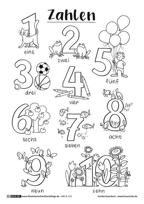 Kinder Malvorlagen Ausmalbilder Buchstaben Und Zahlen In 2021 Zahlen Lernen Vorschule Kinder Lernen Abc