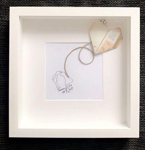 #geldgeschenke #hochzeitspaar #euroschein #gemaltes #ideen #mitIdeen Geldgeschenke  gemaltes Hochzeitspaar mit  ♡50-Euroschein