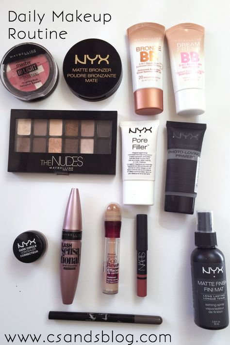 Today I wanted to share with you my daily makeup routine. My makeup looks aren't always glamorous like I showcase...