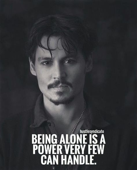 On Being Alone - Johnny