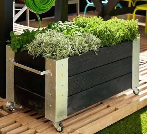Die OBI Selbstbauanleitungen | Gardens, Raised bed and Garden ideas