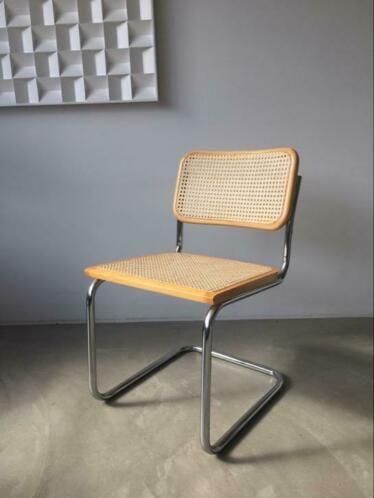 Bauhaus Look Stoelen.Vintage Cesca Stoel Thonet S32 Breuer Made In Italy