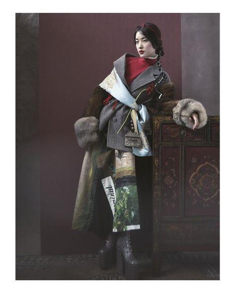 WHISPER OF TIBET (Harper's Bazaar China) by Yin Chao