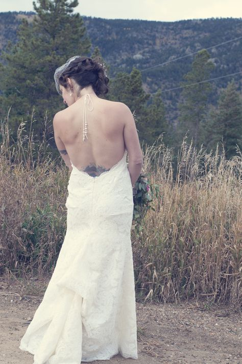 Katie May Lanai Backless Wedding Gown With A French Bustle