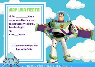 Tarjetas De Toy Story En 2020 Invitaciones De Toy Story