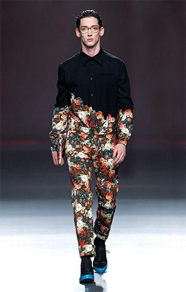 God, I love high fashion. It's like watching a dog walk on its hind legs.