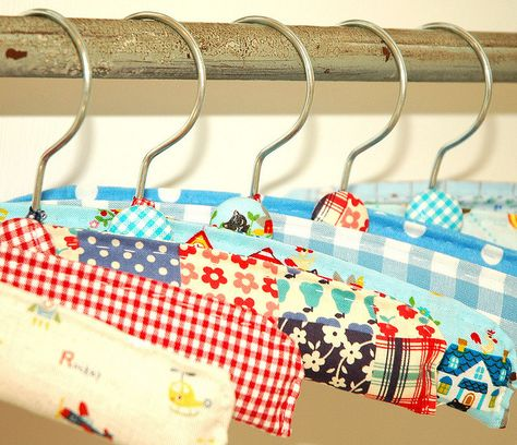 Clothes Hangers For Baby Boys Perchas Decoradas Perchas De