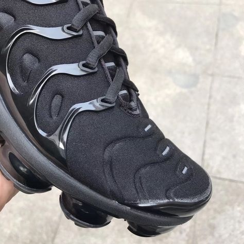 5c6aec7df626 Here s our best look yet at the Nike Air VaporMax Plus Triple Black ...