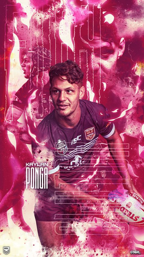 State Of Origin Wallpaper Kalyn Ponga Nrl Rugby Poster Rugby League