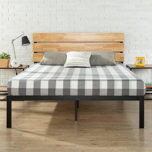 Wooden Beds You Ll Love Wayfair Platform Bed Designs Metal Platform Bed Wood Platform Bed