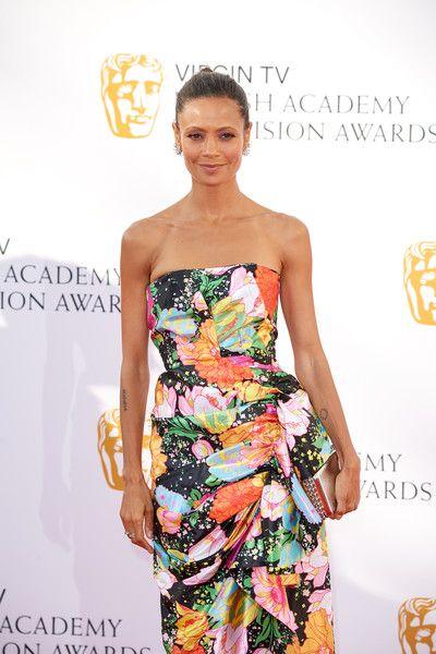 Thandie Newton attends the Virgin TV British Academy Television Awards.