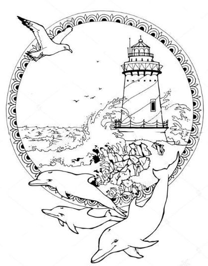 Omeletozeu Coloring Pages Lighthouse Color