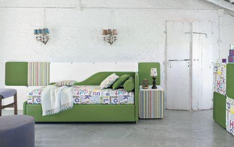 Letti singoli a programma- Twils | Twils | Bed, Upholstered ...