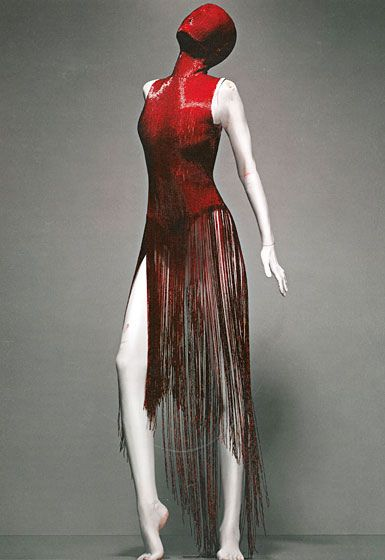 "Dress, ""Joan"" Fall 1998 - ""Alexander-McQueen: Savage Beauty"" at the Met by Winter Phoenix, via Flickr"