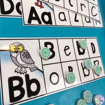 Polar Animals Math And Literacy Centers For Preschool Pre K And Kinder Polar Animals Literacy Centers Preschool Activities