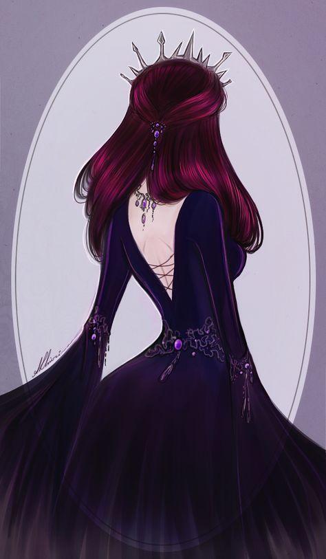 Next Evil Queen by AShiori-chan, Raven Queen, Ever After High Raven Queen, Evil Queens, Queen Art, Ever After High, High Art, Beautiful Anime Girl, Girl Wallpaper, Queen Wallpaper Crown, Flower Wallpaper